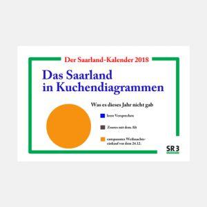 Das Saarland in Kuchendiagrammen - Der Kalender