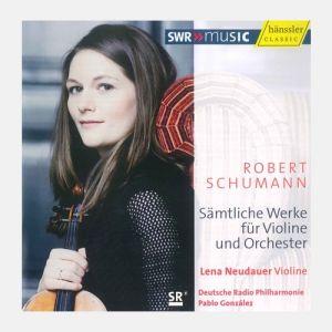 Robert Schumann - Sämtliche Werke für Violine und Orchester